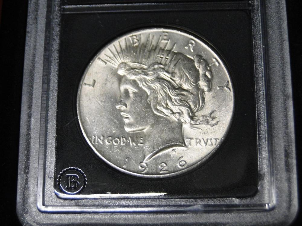 1926 Brilliant Uncirculated1926 Peace Dollars