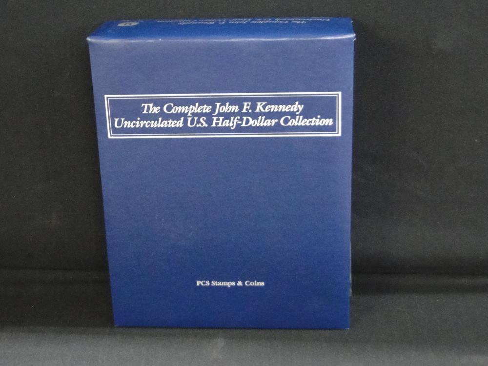 The Complete J.F. Kennedy Unc. U.S. Half Dollar