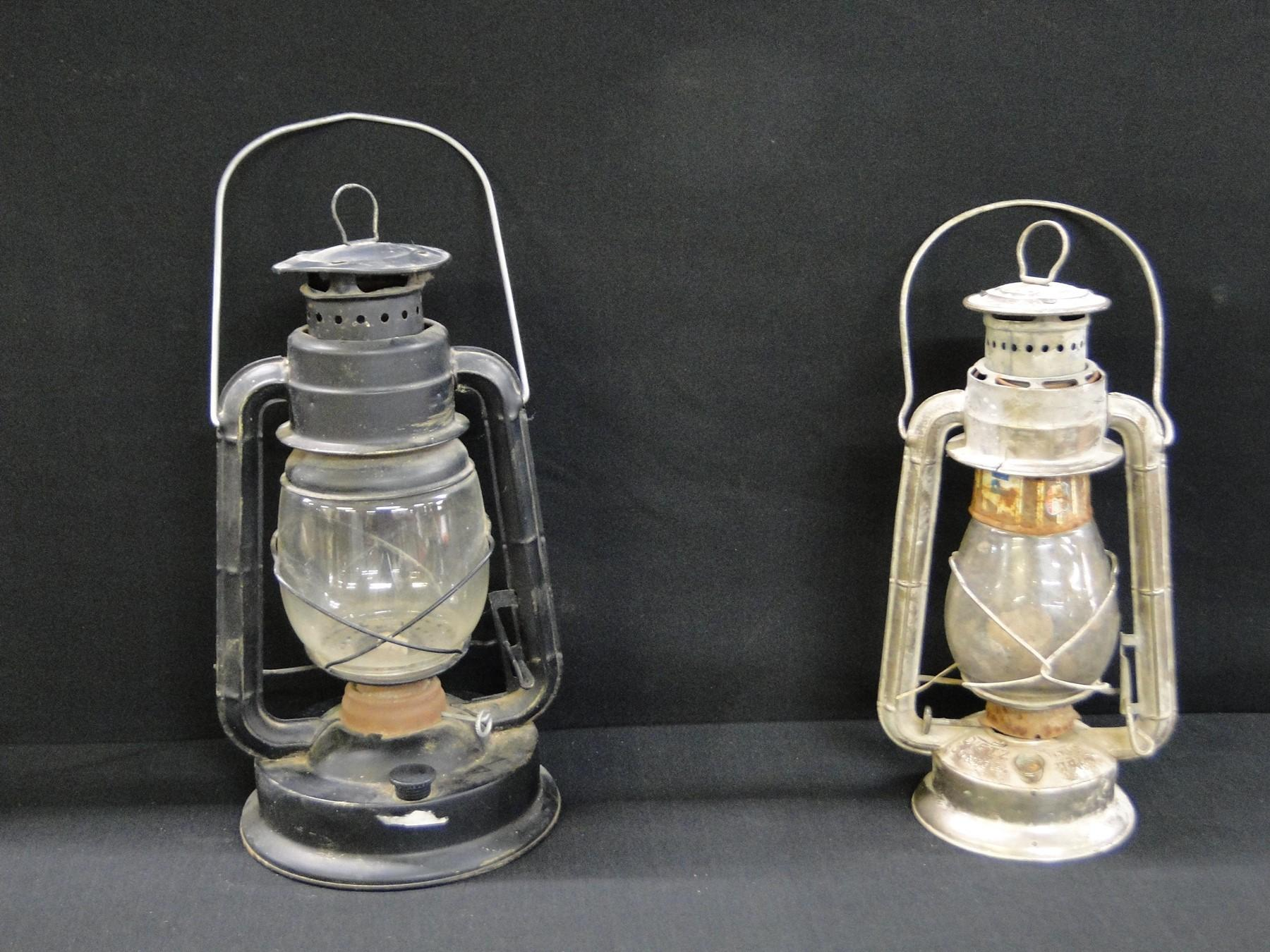 2 Vintage Barn Lanterns