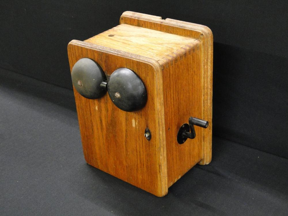 Antique Desk Phone Bridging w/ Standard Ring