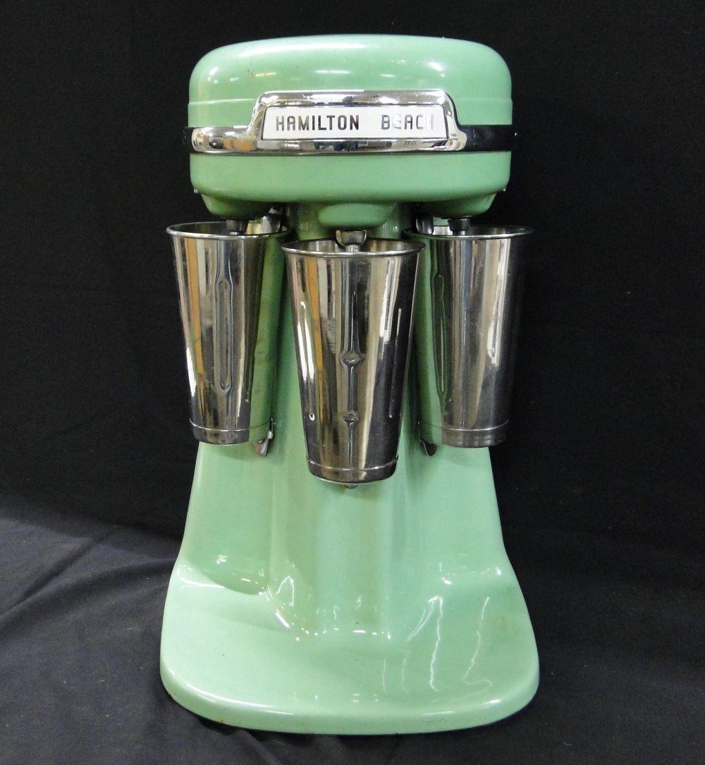Vintage Hamilton Beach Jadeite Triple Malt Mixer