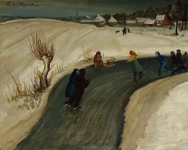 Prosper de Troyer Destelbergen 1880-Duffel 1961