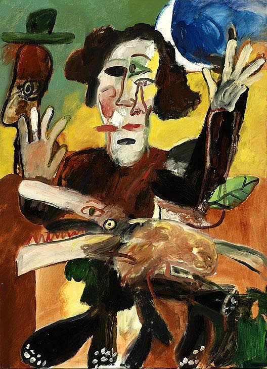 Anton Martineau Amsterdam 1926 Compositie met