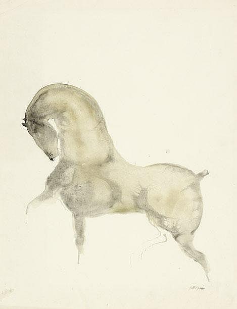Gerard Princée Helmond 1908-1999 Sierlijk paard