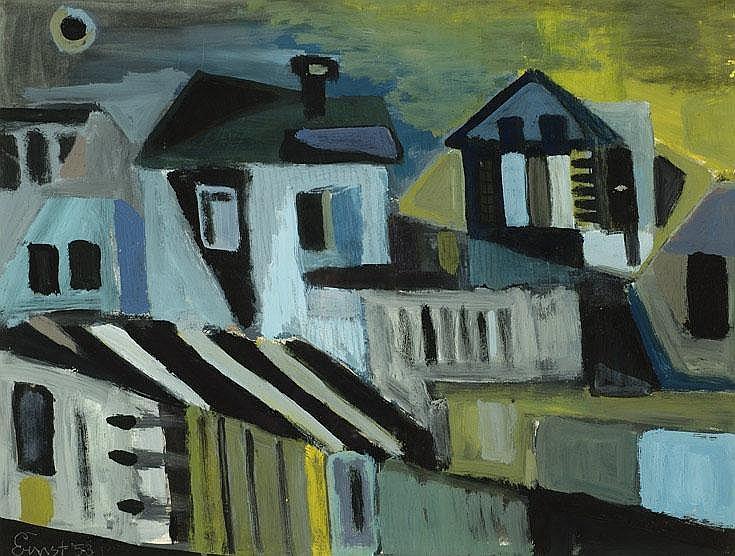 Ernst Vijlbrief Utrecht 1934 Huizen op Ibiza