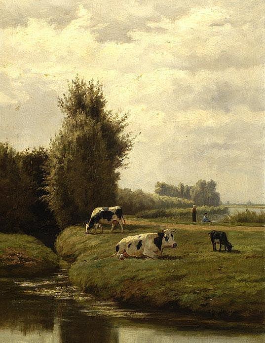Omschrijving: Dirk Peter van Lokhorst Utrecht 1848