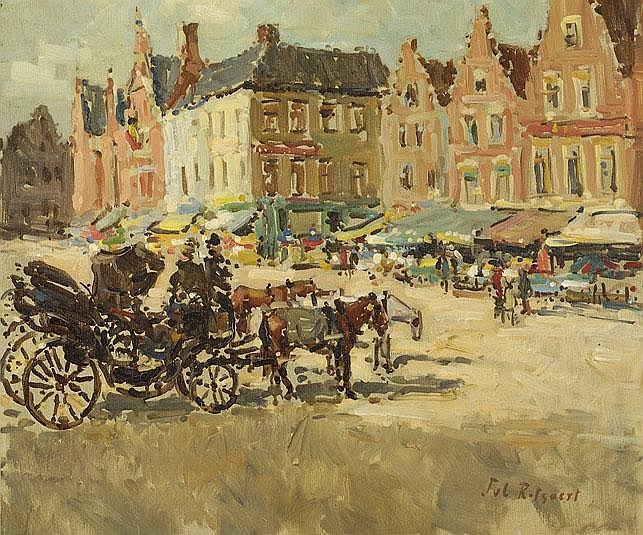Omschrijving: Jules Rotsaert België 1910 - 1968