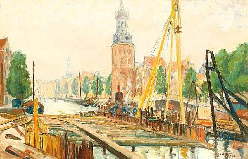 Omschrijving: Claas Prins Amsterdam 1903 - Bussum