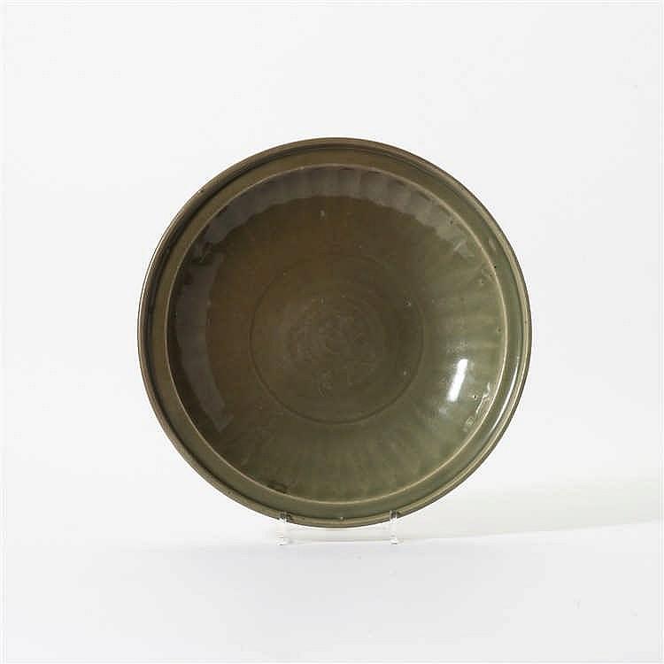 A Longquan celadon dish