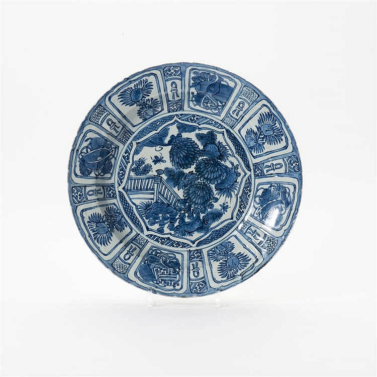 A 'kraak' porcelain dish