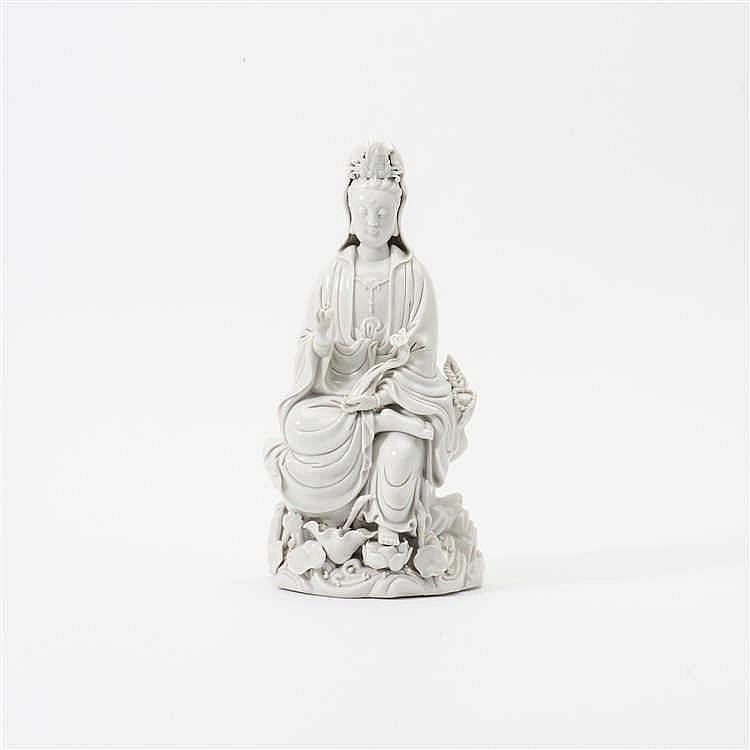 A 'blanc de Chine' Guanyin