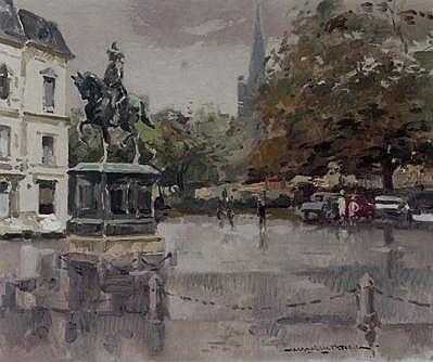 Hessel de Boer 1921 - 2003 Gezicht op het