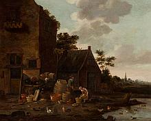 Omgeving van Adriaen Lievensz. van der Poel (Delft 1628 - Leiden 1671/1691)