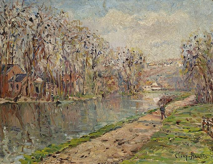 Adolphe Albert Clary-Baroux Parijs 1865 - 1933
