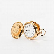 An antique 18 carat gold International Watch Company remontoire