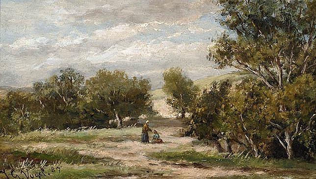 Johannes Gijsbert Vogel Hooge Zwaluwe - Velp 1915
