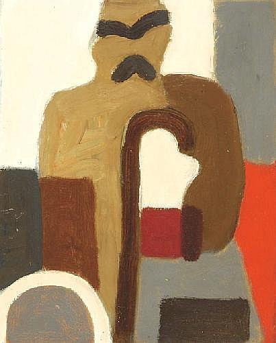 Ed Dukkers Zandvoort 1923 - Amsterdam 1996 'Man'