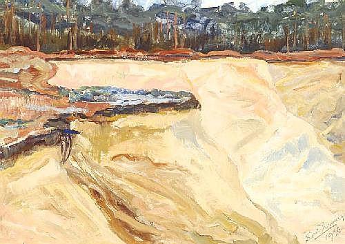Douwe Jan van der Zweep Utrecht 1890 - 1975 Sand