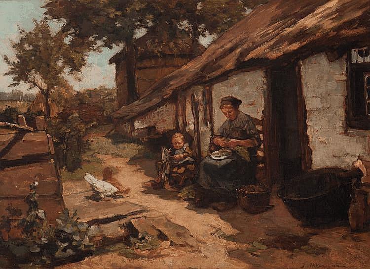 Johannes Evert Akkeringa (Blinjoe 1861 - Amersfoort 1942)
