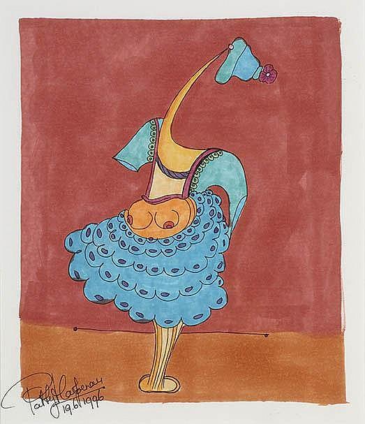 Patty Harpenau Amsterdam 1959 Vrouwenfiguur met