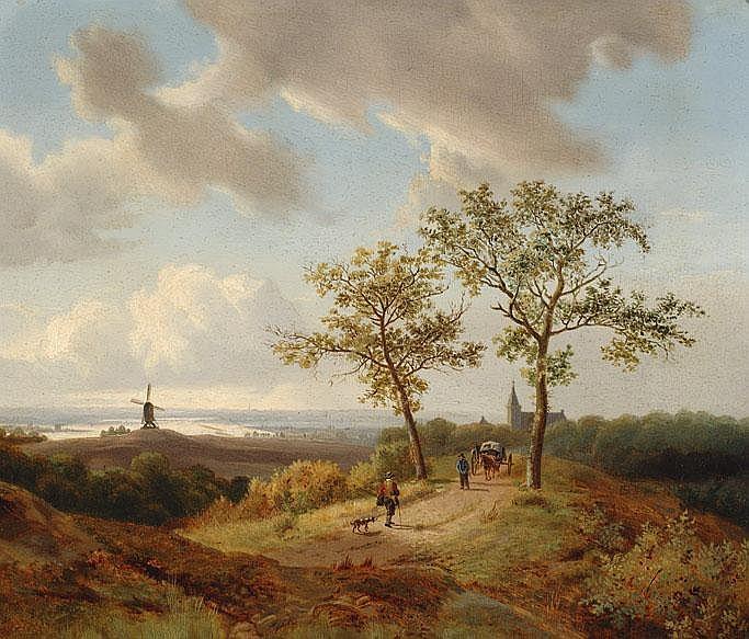 Circle of Jan Pieter van Wisselingh 1812 - 1899