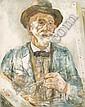 Adrianus de la Rivière Rotterdam 1857 - 1941 Self, Adrianus Philippus