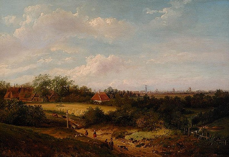 Anthony Andreas de Meijier Den Haag 1806 - 1867