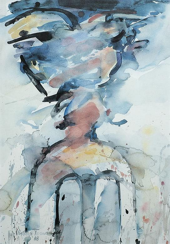 Robert Terwindt Berg en Dal 1940 Compositie