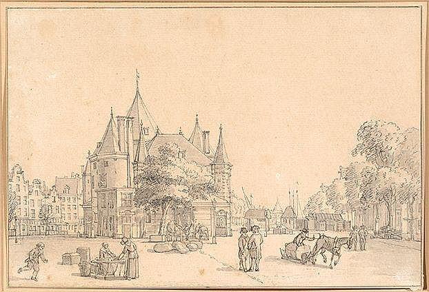 Reinier Vinkeles Amsterdam 1741 - 1816 Gezicht op