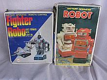 Used boxed BO Aldon 1984 transformer Robot etc