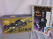 Three used boxed Batman:- Batman Playsuit - Rocket