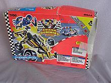 Two used boxed Tyco Crash Test Dummies, Slam Cycle