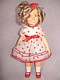 Ideal 1970s 41cm Shirley Temple doll. All original