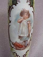 Decorative 31cm Alabaster type flower Vase with
