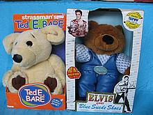 Four boxed celebrity bears:- David Strassman Ted E
