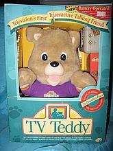 Store condition, MIB 1993 B/O TV Teddy first
