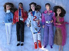 Five celebrity Action figures:- Michael Jackson