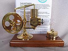Bohm Stirling Engine 12cm Deutsches Museum