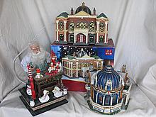 Three Christmas Displays:- boxed Holiday Time
