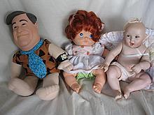Eight Toys / Dolls inc Peggy Nisbet