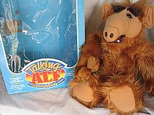 Two Coleco Talking TV Alf dolls