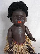 Brown composition 33cm Heubach Islander Baby