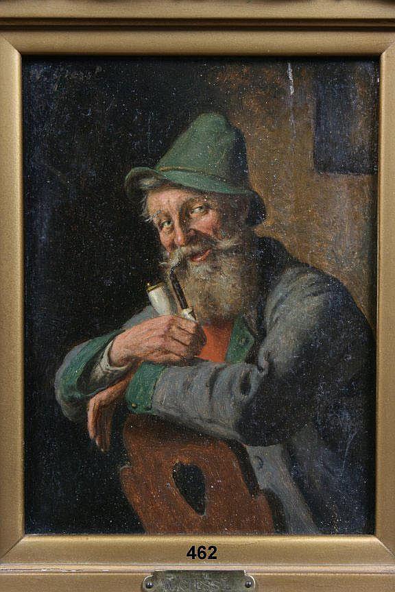 Wilhelm F. Giessel 1869-1938, study of an elderly