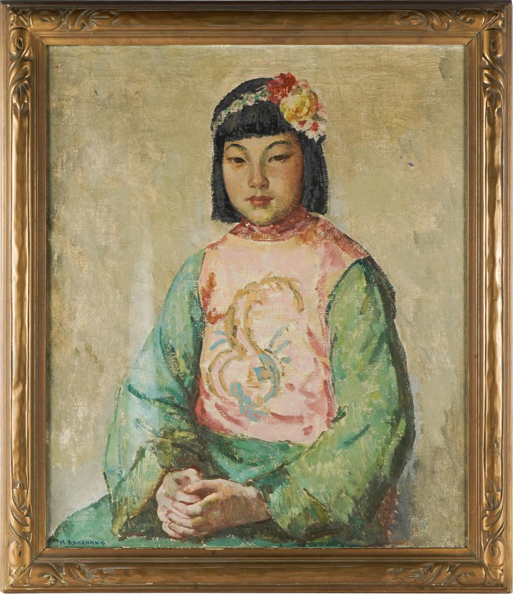 MISCHA ASKENAZY (1888 - 1961): PORTRAIT OF A GIRL