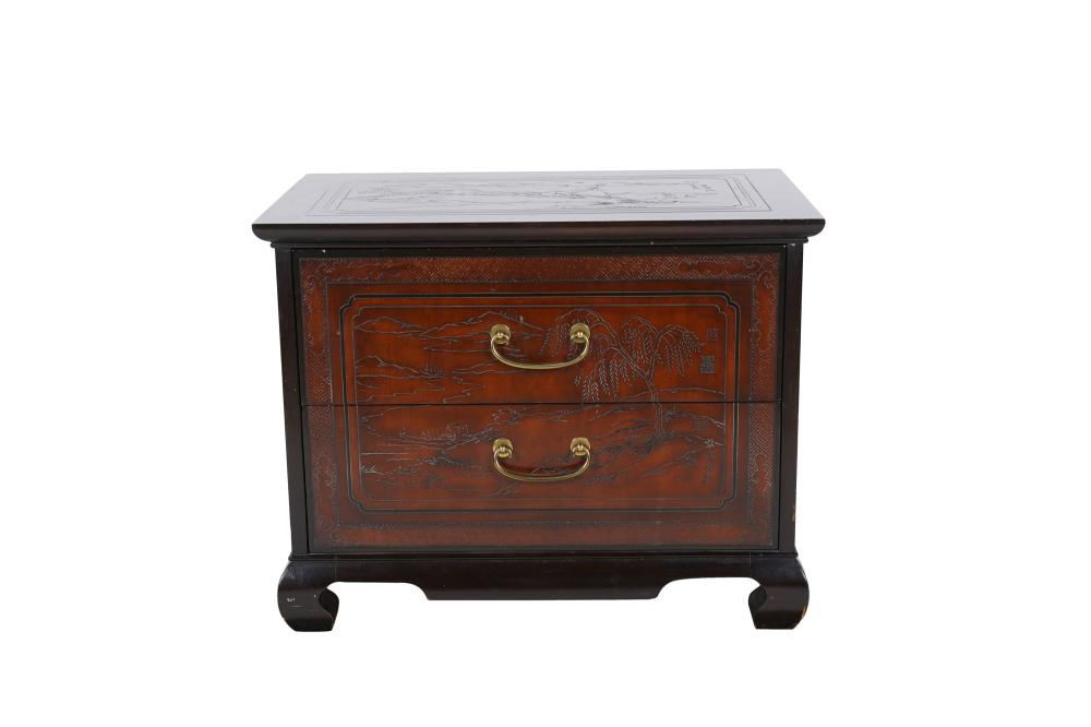 HERITAGE CHINOISERIE SIDE CABINET