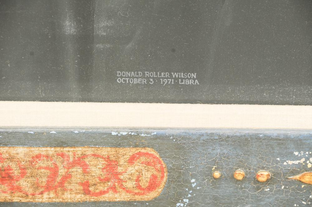 "DONALD ROLLER WILSON: ""LIBRA"""
