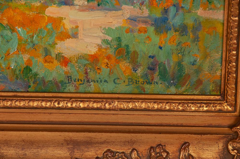 "BENJAMIN CHAMBERS BROWN: ""CALIFORNIA POPPIES"""