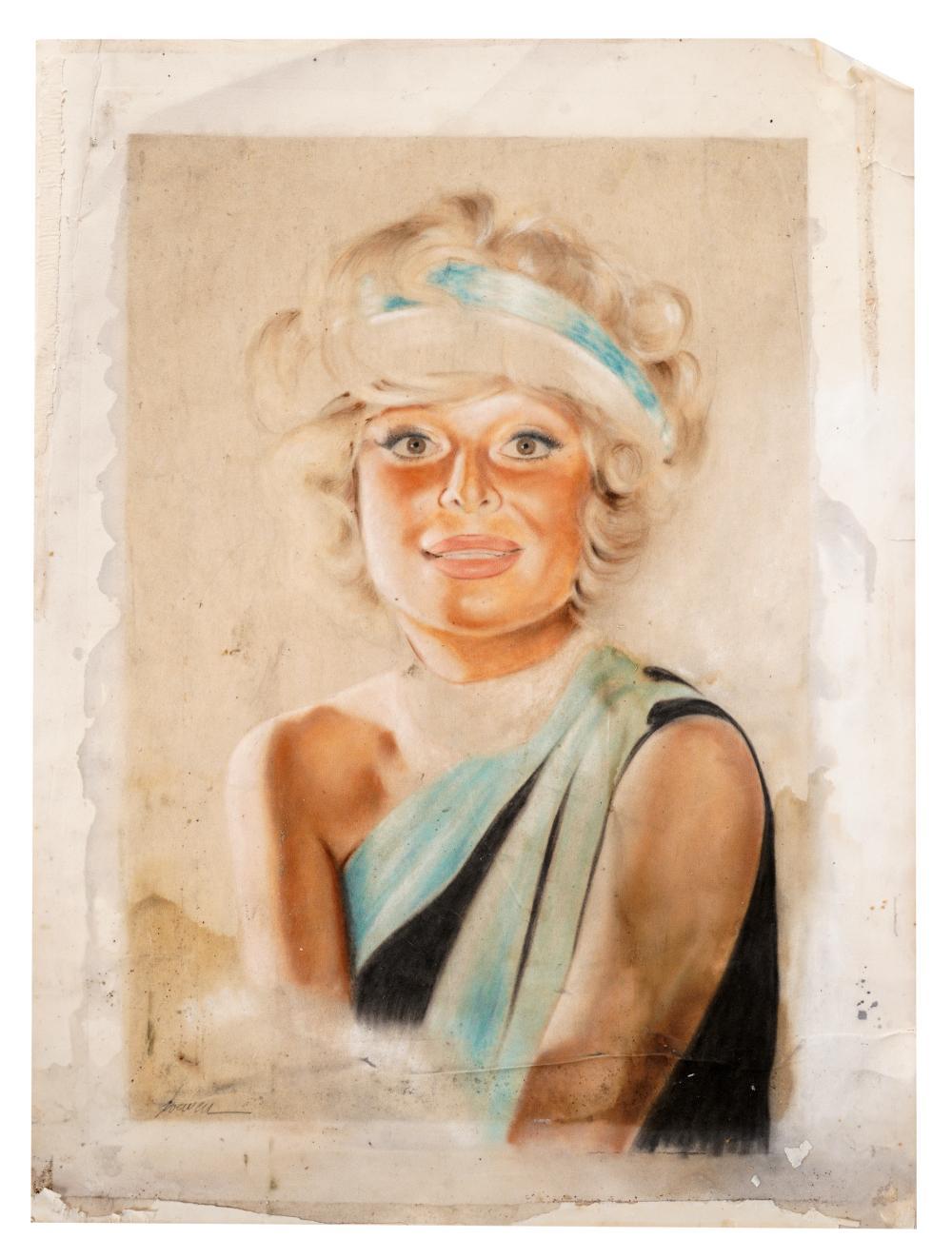 CAROL CHANNING FAN ART PORTRAIT