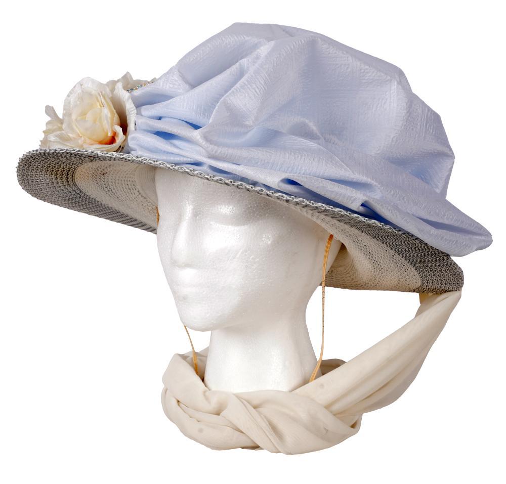 CAROL CHANNING 2008 KENTUCKY DERBY HAT