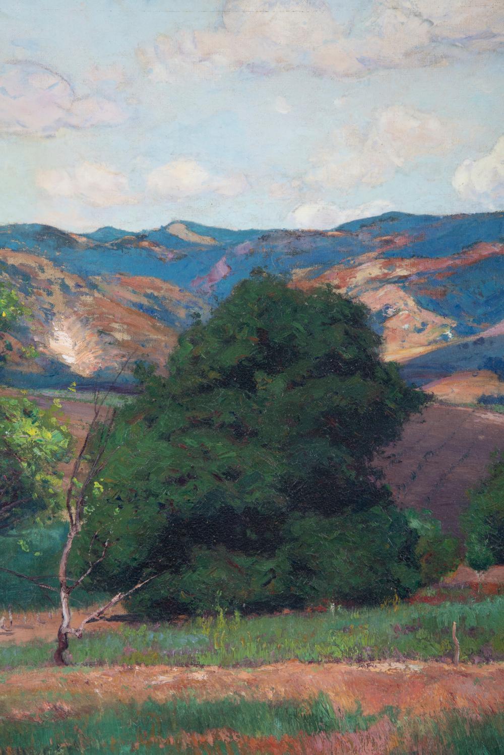 WILLIAM WENDT (1865 - 1946): CALIFORNIA LANDSCAPE